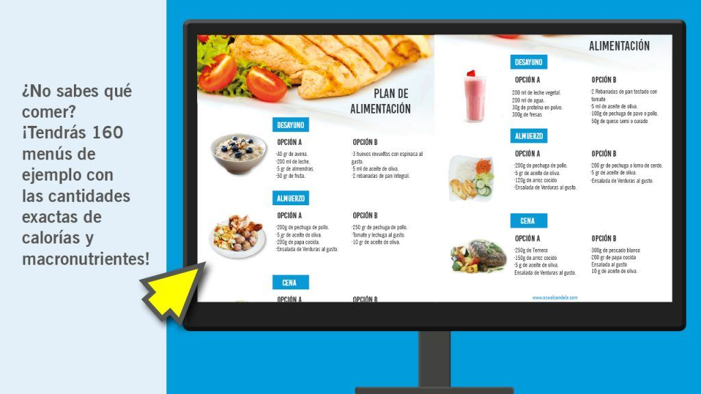 crea tu dieta
