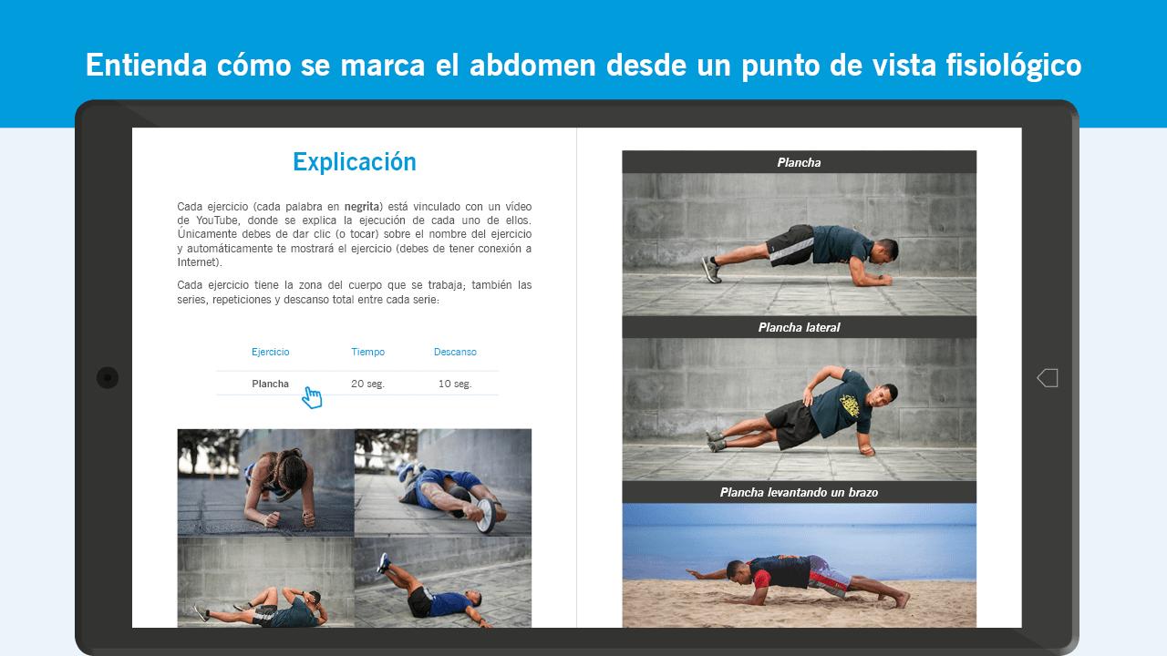 Como se marca el abdomen 1280 x 720